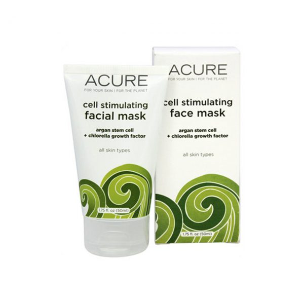 CELL STIMULATING FACIAL MASK - ARGAN STEM CELL + CHLORELLA BY ACURE ORGANICS