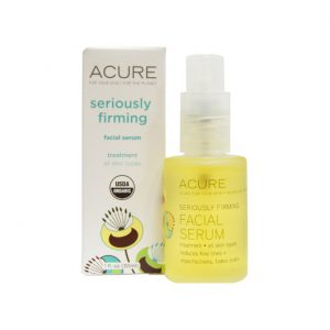 FACIAL SERUM - SERIOUSLY FIRMING BY ACURE ORGANICS