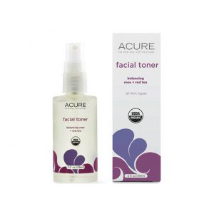 FACIAL TONER - ROSE + RED TEA BY ACURE ORGANICS