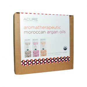 ARGAN OIL - 100% CERTIFIED ORGANIC - AROMATHERAPEUTIC - 3 PACK BY ACURE ORGANICS