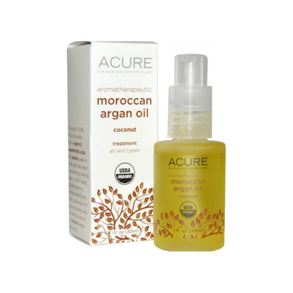 ARGAN OIL - 100% CERTIFIED ORGANIC - AROMATHERAPEUTIC BY ACURE ORGANICS