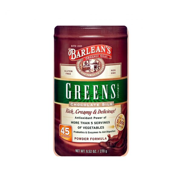 GREENS - QUALITY ANTIOXIDANT SUPERFOODS PRODUCTS BY BARLEAN'S