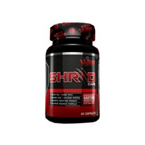 SHRED CAPS - WEIGHT LOSS SUPPLEMENTS BY BODYWAR NUTRITION