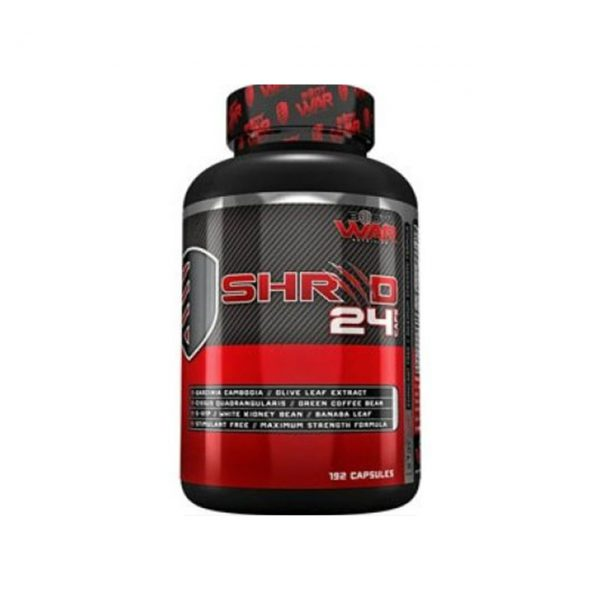 SHRED 24 - WEIGHT LOSS SUPPLEMENTS BY BODYWAR NUTRITION