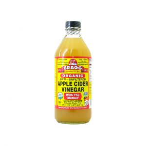 APPLE CIDER VINEGAR - CERTIFIED ORGANIC - RAW UNFILTERED BY BRAGG