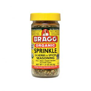 ORGANIC SPRINKLE - ALL NATURAL HERBS AND SPICES BY BRAGG