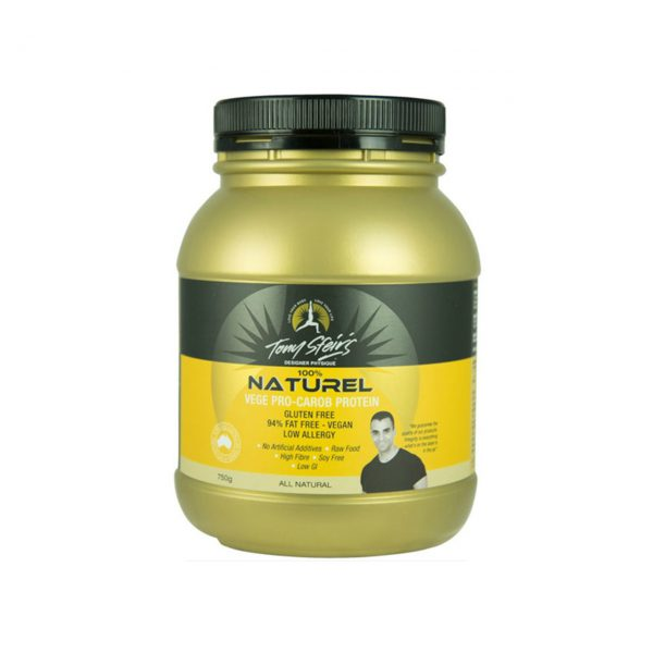 100% NATURAL VEGE PRO-CAROB PROTEIN - VEGAN FRIENDLY CAROB-SEED PROTEIN BY DESIGNER PHYSIQUE