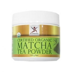 MATCHA TEA POWDER - CERTIFIED ORGANIC INGREDIENTS BY DR SUPERFOODS