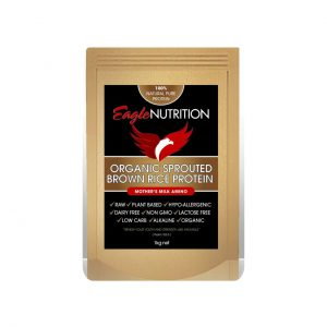 ORGANIC SPROUTED BROWN RICE PROTEIN - NATURAL