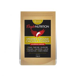 STEAMED GROUND CHICKPEA POWDER - NATURAL CHICKPEA POWDER BY EAGLE NUTRITION
