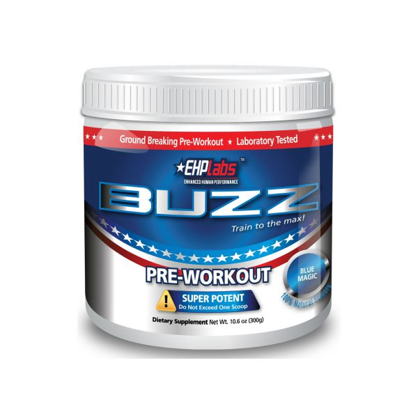 BUZZ - HARDCORE ENERGY PREWORKOUT SUPPLEMENTS BY EHPLABS