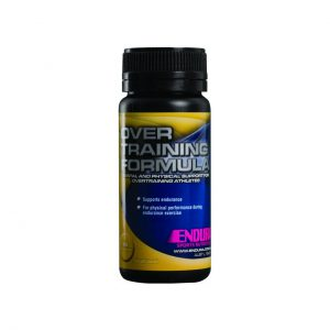OVER TRAINING FORMULA - GINSENG RECOVERY PRODUCTS BY ENDURA