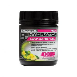 REHYDRATION LOW CARB FUEL - ELECTROLYTES AND HYDRATION BY ENDURA