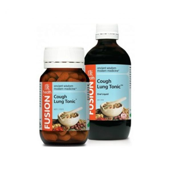COUGH LUNG TONIC - EASE COUGHS AND COLDS WITH FUSION