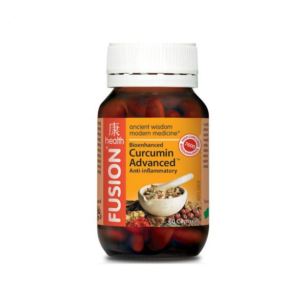 CURCUMIN ADVANCED - NATURAL ANTI-INFLAMMATORY RELIEF PRODUCTS BY FUSION