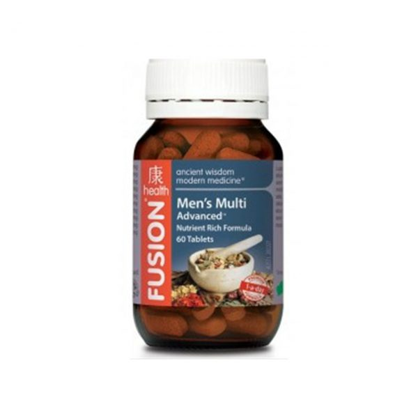 MEN'S MULTI ADVANCED - BOOST SEX DRIVE AND VITALITY BY FUSION HEALTH