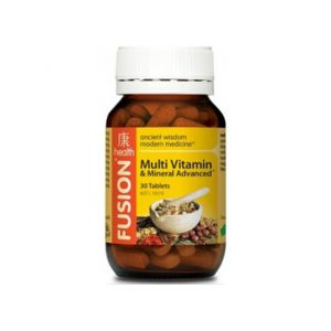 MULTI VITAMIN & MINERAL ADVANCED - COMPREHENSIVE MULTIVITAMINS AND MINERALS BY FUSION