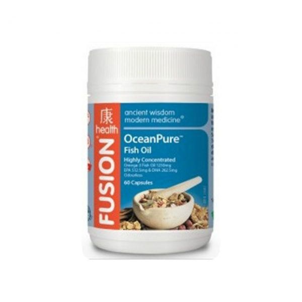 OCEANPURE FISH OIL - HIGH QUALITY FISH OIL BY FUSION HEALTH
