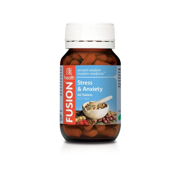 STRESS AND ANXIETY FORMULA BY FUSION HEALTH