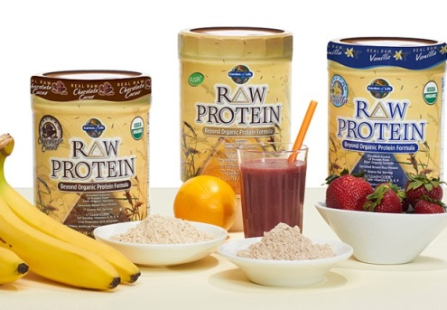 VEGETARIAN AND VEGAN FRIENDLY PROTEIN BY GARDEN OF LIFE