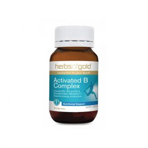Activated B Complex - Superior Absorption - Reduce Stress - Increase Energy by Herbs of Gold