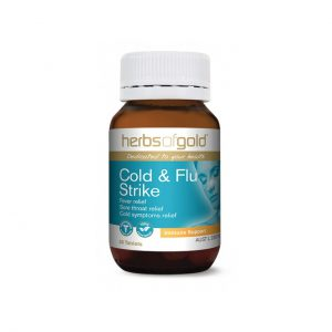 Cold and Flu Strike - Fever Relief - Sore Throat Relief by Herbs of Gold