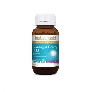 Ginseng 4 Energy Gold - Reduce Fatigue - Manage Stress by Herbs of Gold