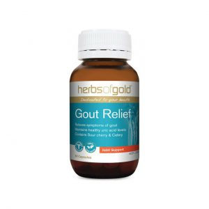 Gout Relief - Relieves Symptoms - Maintains Healthy Uric Acid Levels by Herbs of Gold