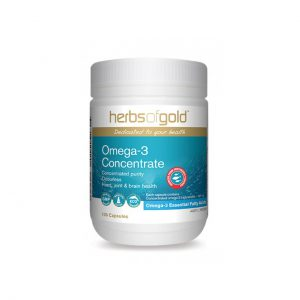 Omega-3 Concentrate - Heavy Metal Tested - High Concentration by Herbs of Gold