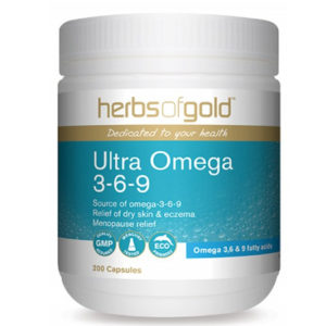 Ultra Omega 3-6-9 - Joint Health - Cardiovascular Health by Herbs of Gold