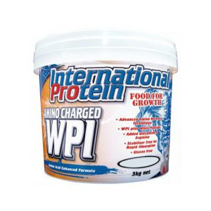 AMINO CHARGED WPI - LEAN PROTEIN POWDERS BY INTERNATIONAL PROTEIN
