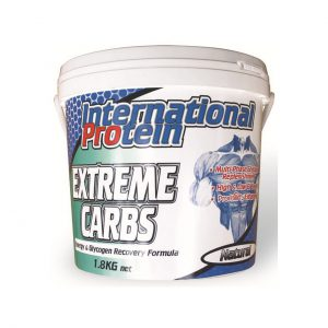 EXTREME CARBS - ENERGY AND RECOVERY FORMULAS BY INTERNATIONAL PROTEIN