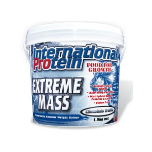 EXTREME MASS - WEIGHT GAINER FORMYLATIONS BY INTERNATIONAL PROTEIN