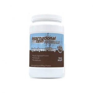 HYDROLYSED WHEY - NATURAL PROTEIN POWDERS BY INTERNATIONAL PROTEIN