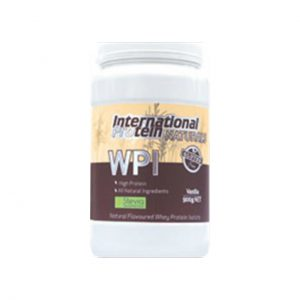 WPI - NATURAL PROTEIN POWDERS BY INTERNATIONAL PROTEIN