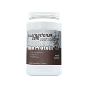 RICE PROTEIN - NATURAL RICE PROTEIN BY INTERNATIONAL PROTEIN