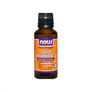 LIQUID VITAMIN D-3 1000IU - CONCENTRATED VITAMIN D-3 IN LIQUID BY NOW