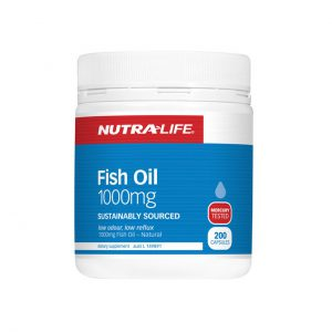 FISH OIL 1000MG JOINT SUPPLEMENTS BY NUTRA LIFE