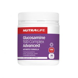 GLUCOSAMINE 1500 COMPLEX ADVANCED - JOINT SUPPLEMENTS BY NUTRA  LIFE