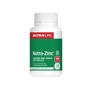 NUTRA-ZINC - INCREASE TESTOSTERONE - IMMUNE BOOSTERS BY NUTRA LIFE