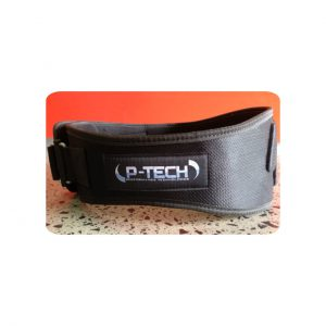 VELCRO NEOPRENE LIFTING BELT - TRAINING ACCESSORIES BY P-TECH TRAINING GEAR