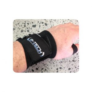 WRIST WRAPS THUMB LOOP START - TRAINING ACCESSORIES BY P-TECH TRAINING GEAR