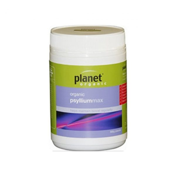 PSYLLIUM MAX - CERTIFIED ORGANIC - PREBIOTIC BY PLANET ORGANIC