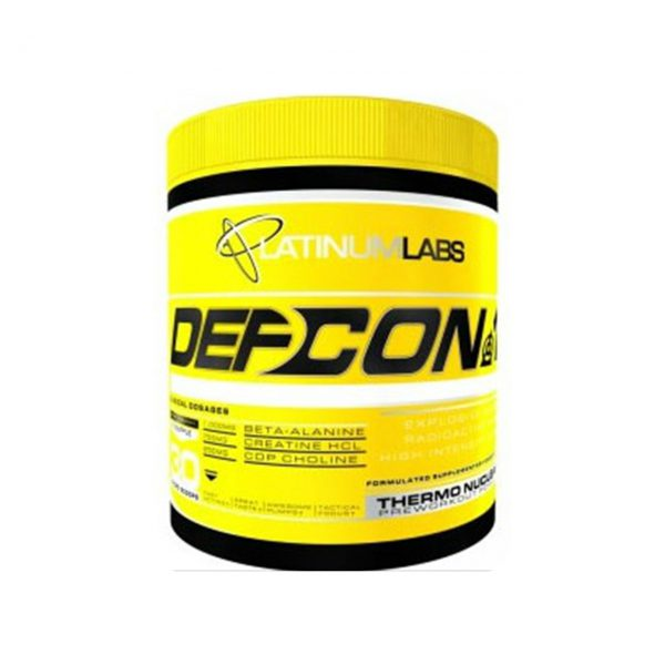 DEFCON 1 - HARDCORE PREWORKOUT ENERGY SUPPLEMENTS BY PLATINUM LABS