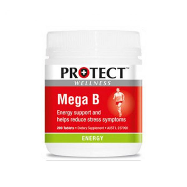 MEGA B - BOOST ENERGY - REDUCE FATIGUE BY PROTECT