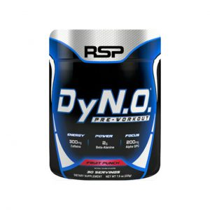 DYN.O. - HARDCORE PRE-WORKOUT SUPPLEMENTS BY RSP NUTRITION