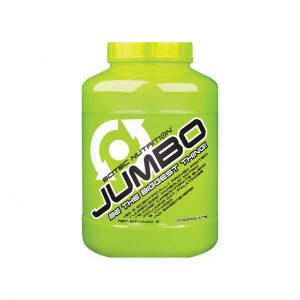 JUMBO - QUALITY MASS GAINER PROTEIN BY SCITEC NUTRITION