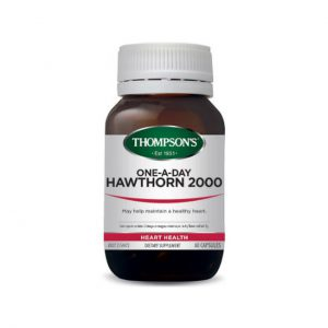 One A day Hawthorn 2000 - Heart Health - Cardiovascular Support by Thompsons