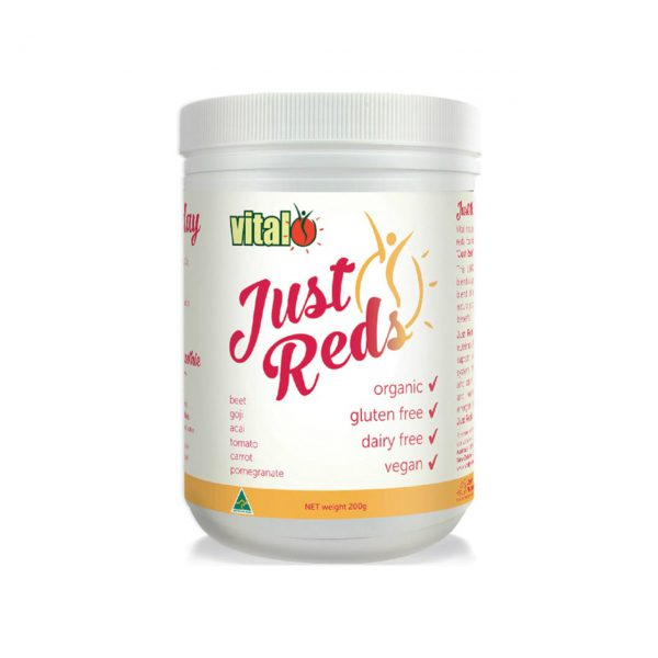 JUST REDS - ORGANIC NUTRITION BY VITAL GREENS