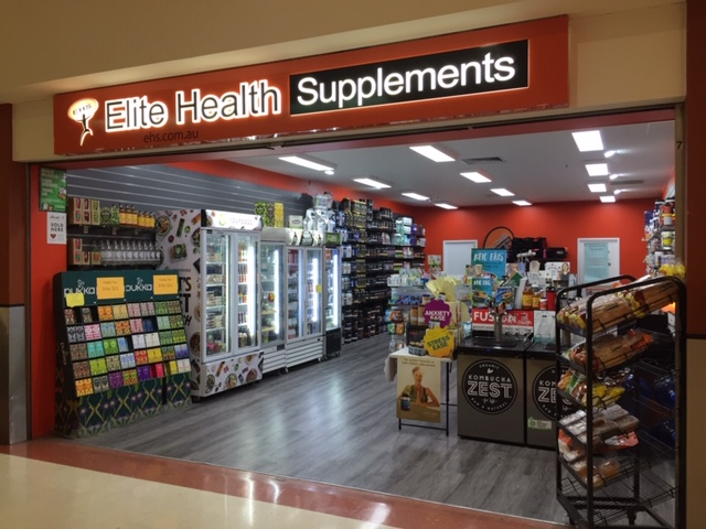 elite health supplements store